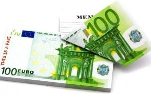 100 Euro Scheine Notizblock + Witzige Geschenke + lustige Geschenkideen