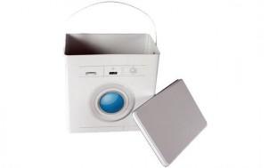 Aufbewahrungsdose Waschmaschine + jetztbinichpleite.de