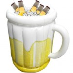 Aufblasbarer Bierkrug + was schenke ich meinem Freund + Geschenk Idee