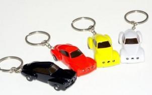 Auto-Schlüsselanhänger mit Led Frontscheinwerfer Laser und Elektroschocker + jetztbinichpleite.de