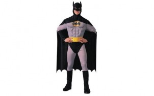 Batman Musclechest Deluxe Kostüm + jetztbinichpleite.de