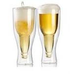 Doppelwandiges Bierglas + Witzige Geschenke + lustige Geschenkideen