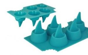 Eiswürfel Haifischflosse + was schenke ich meinem Freund + Geschenk Idee