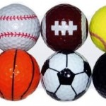 Golfbälle in Sportballoptik + was schenke ich meinem Freund + Geschenk Idee