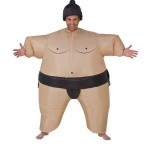 Inflatable Costume Sumo Wrestler + jetztbinichpleite.de