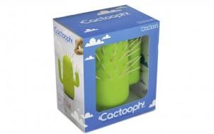 Kaktus Zahnstocherhalter + jetztbinichpleite.de