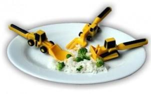 Kinderbesteck-Set CONSTRUCTIVE EATING + jetztbinichpleite.de