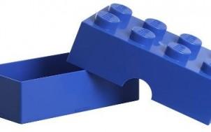 Lego Lunch Box Blau 8er + jetztbinichpleite.de