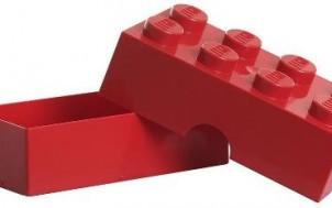 Lego Lunch Box Rot 8er + jetztbinichpleite.de
