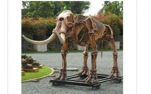 Mastodon Skelett Gartendeko + jetztbinichpleite.de