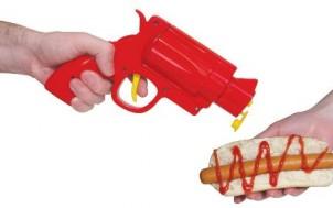 Pistole für Senf und Ketchup + was schenke ich meinem Freund + Geschenk Idee