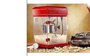 Popcorn-Maschine 'Cinema' + jetztbinichpleite.de
