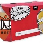 Simpsons Glas Set Duff Beer + was schenke ich meinem Freund + Geschenk Idee