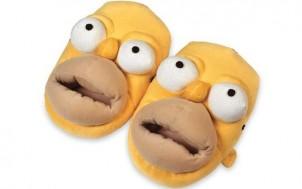 Simpsons Hausschuhe Homer + jetztbinichpleite.de
