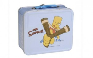 Simpsons Lunchbox Bart + jetztbinichpleite.de
