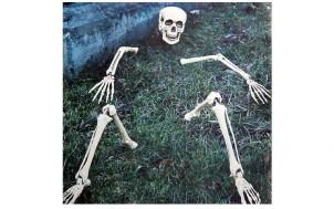 Skelett Außendeko + jetztbinichpleite.de