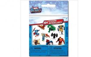 Spiderman, Hulk, Wolverine 104 mini Sticker + jetztbinichpleite.de
