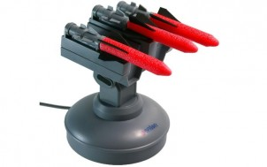 USB Raketenwerfer mit 3 Raketen + Witzige Geschenke + lustige Geschenkideen