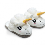 Unicorn Einhorn Hausschuhe verschenken Geschenkidee
