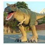 Verrücktes Geschenk finden- T-Rex Lebensgroß
