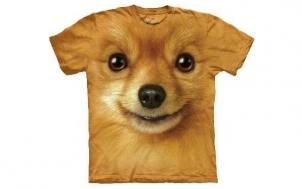 brauche hilfe geschenk - Zwergspitz Hundegesicht T-Shirt