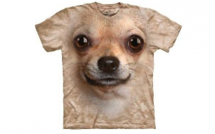geschenk für ehemann gesucht - Chihuahua Hundegesicht T-Shirt