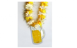 geschenk für ehemann gesucht - Hawaiikette Bier