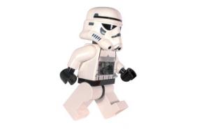hilfe brauche geschenk + Lego Wecker Star Wars - Stormtrooper