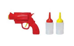 hilfe geschenkidee für freund + Ketchuppistole und Senfknarre