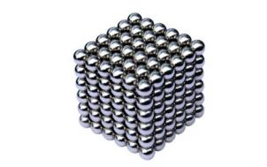 hilfe geschenkidee für freund + Neodym-Würfel aus 216 Magnetkugeln