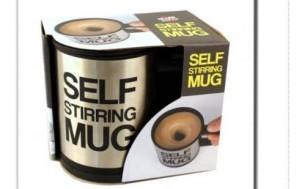 selbstumrührende Tasse + Geschenkideen für Männer und Gadgets