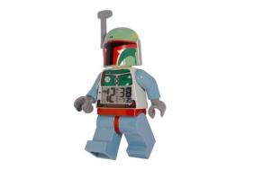 suche lustiges geschenk für mann - Lego Wecker Star Wars - Boba Fett