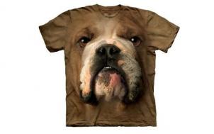 suche lustiges geschenk für mann - Bulldog Face T-Shirt