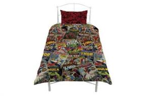 suche lustiges geschenk für mann - Marvel Comics Bettwäsche