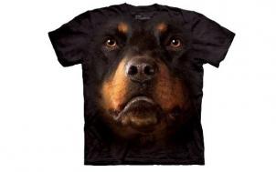 was soll ich verschenken - T-Shirt Rottweiler Face